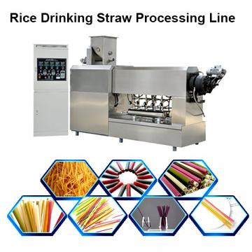 Full Automatic Eco-Friendly Edible Pasta Drinking Straw Machine / Disposable Straw Production Line