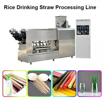 New Design Food Grade Edible Rice Drinking Straw Machine