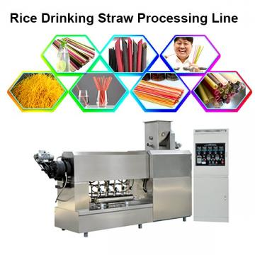 100-150 Kg/H Pasta Processing Line Macaroni Making Machine Italy Noodles Machine Degradable Straw Making Machine