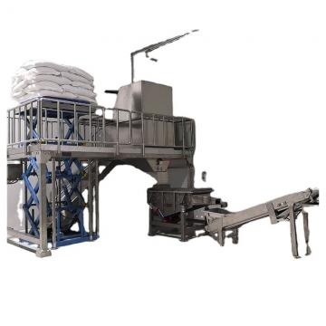 Double Screw Shell Chips Extruding Frying Process Line for Snack Pellets for Small Business