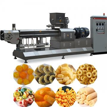 Small Corn Rice Puff Snack Food Extruder Making Machine