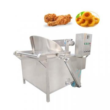 Twin Screw Extruded Fried Tube Sala 3D Bugles Chips Machine
