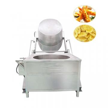 Electrical Commercial Deep Fruit Chips Vacuum Potato Chips Batch