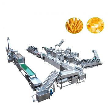 French Fries Potato Chips Production Line/ Crisp Potato Wave Chips Making Machine