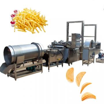 Automatic Potato Chips French Fries Making Machine Fryer Equipment