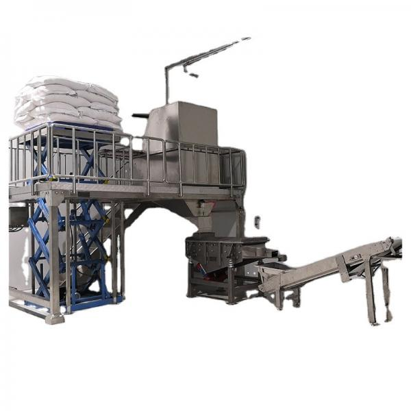 Double Screw Shell Chips Extruding Frying Process Line for Snack Pellets for Small Business #1 image