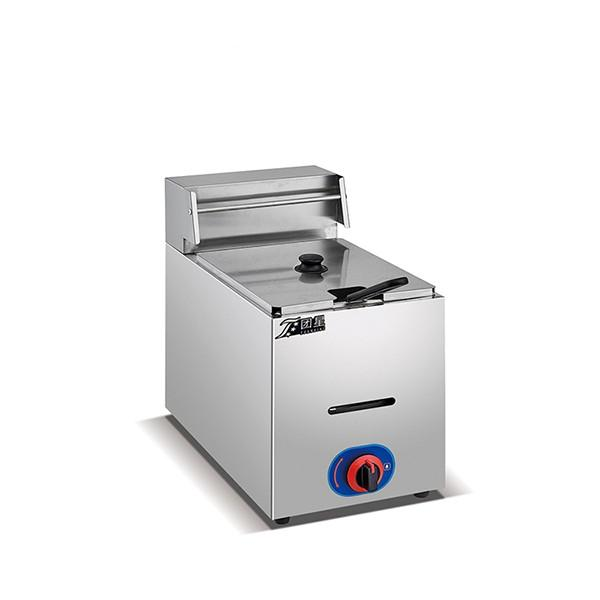 Food Machine Semi-Automatic Fryer for Chips Donut Samosa #1 image