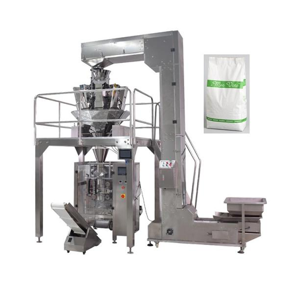 Automatic Potato Chips Sachet Pouch Bag Filling Weighing Bagging Packaging Packing Machine #1 image